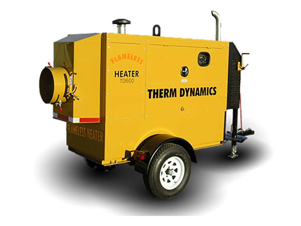 Therm Dynamics Flamelss Heaters